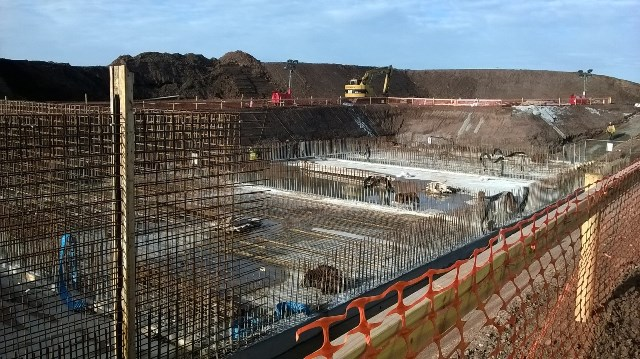 Waste Water Treatment Plant (WWTP) project being carried out by Sorensen Civil Engineering Ltd.