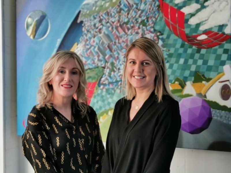 Pictured is Grainne Dilleen (Right) and her PhD Supervisor Dr. Ethel Claffey. WIT School of Business (Left)