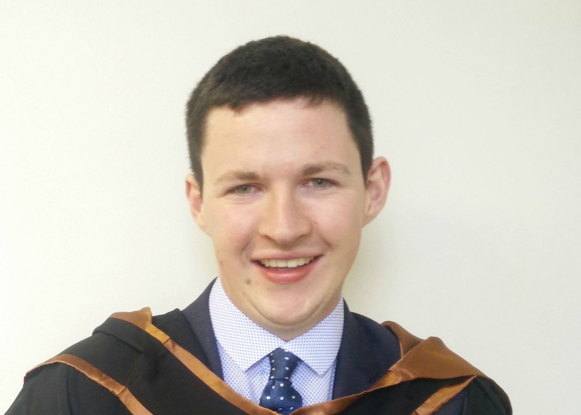 Pictured is William Delaney who secured a position on the Dawn Meats Graduate Programme upon graduation