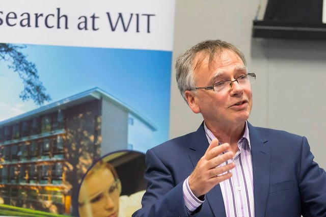 Prod Willie Donnelly, President of WIT and founder of TSSG