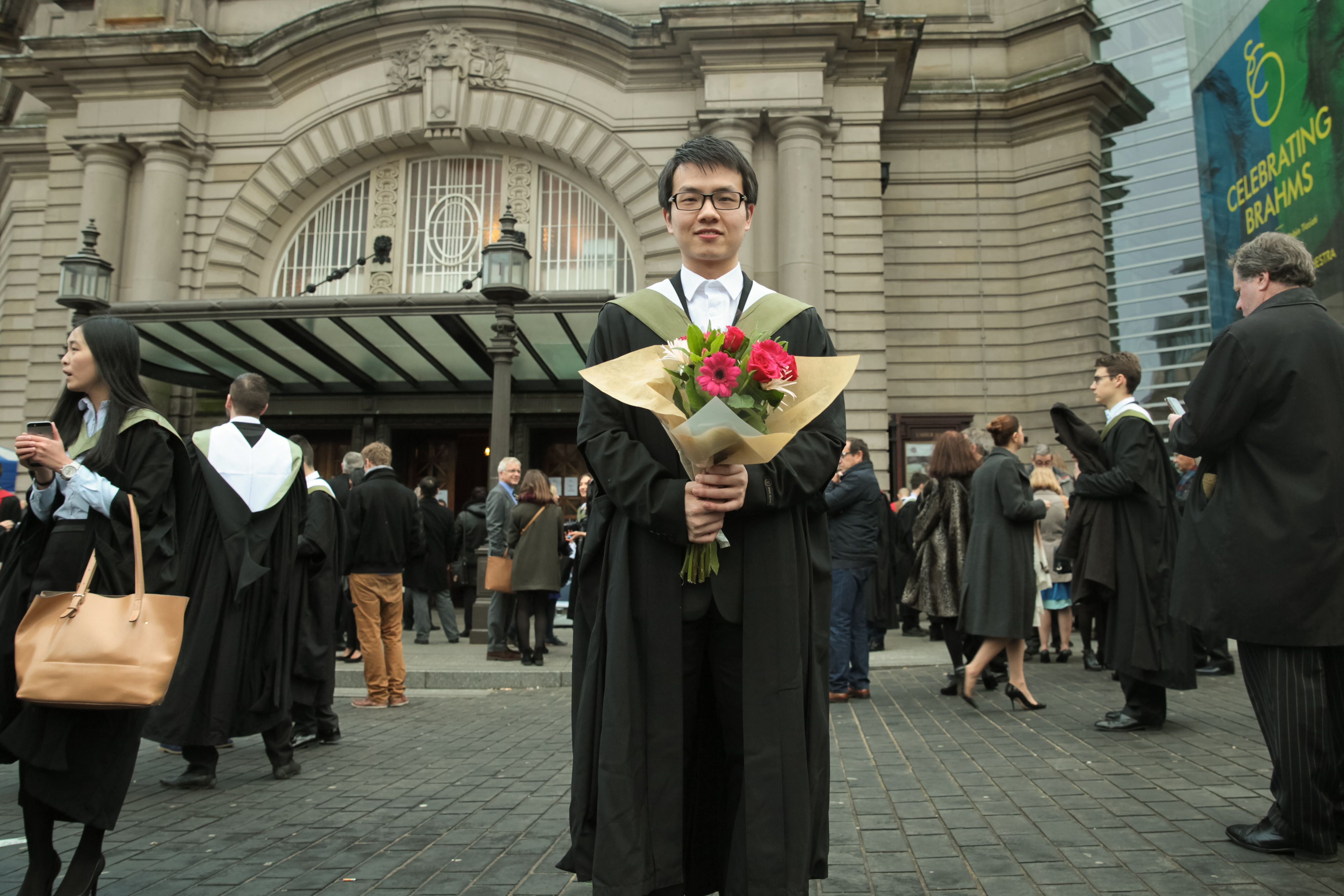 MSc in Information Systems Processes graduate Zhi Chen