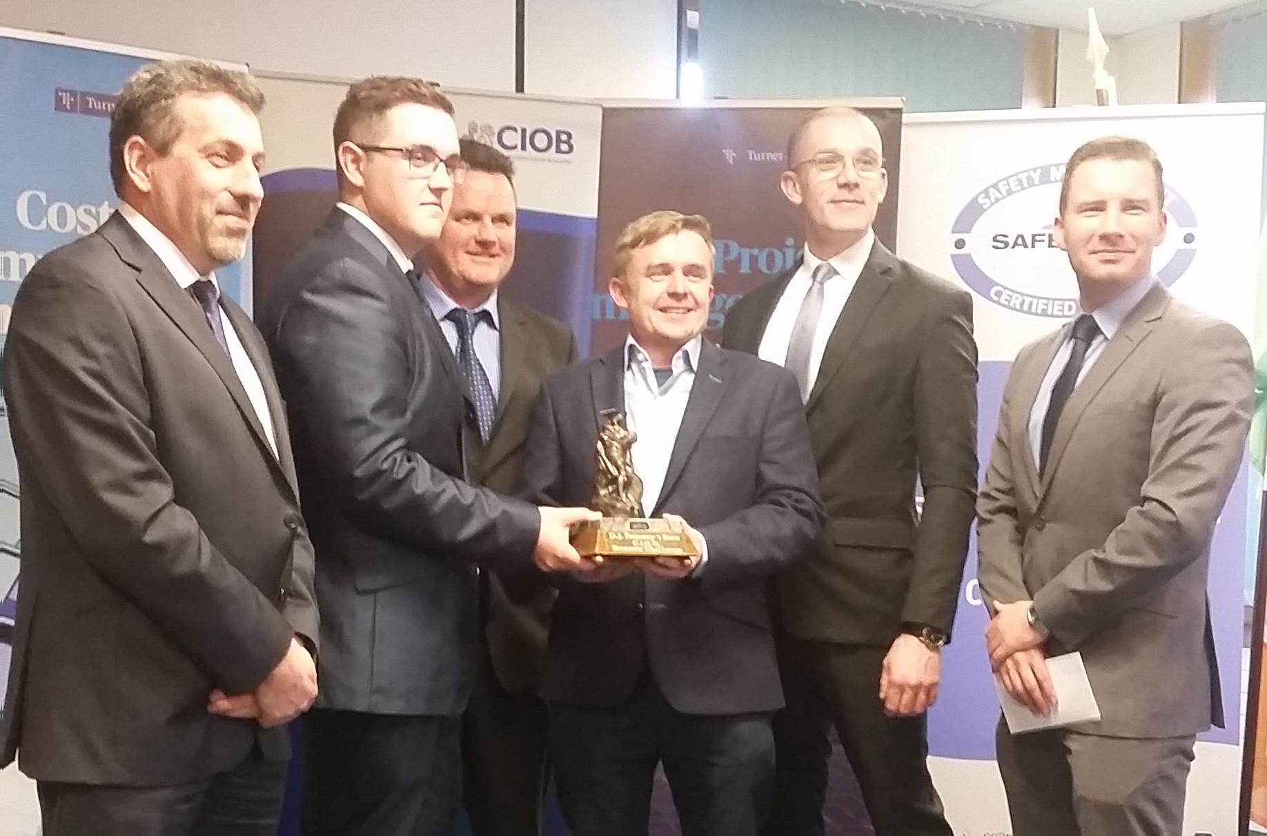 CIOB Student Challenge Ireland Award 2016