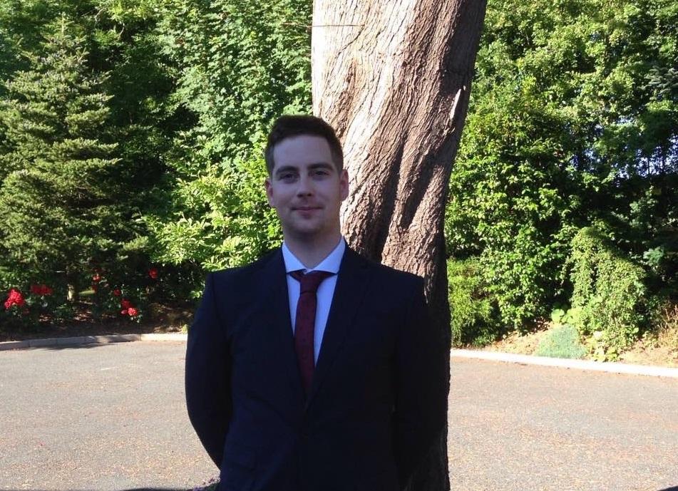 John O' Shea, BSc (Hons) in Manufacturing Engineering graduate