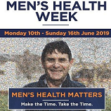 MEN'S HEALTH WEEK - MAKE THE TIME. TAKE THE TIME