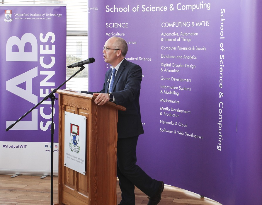 The Department of Science at WIT recently held its Industry Sponsored Awards Ceremony 2019 which was sponsored by Eurofins Scientific, Source Bioscience, Environmental Science Association of Ireland, Sanofi, Bausch & Lomb, Sanofi, Dawn Meats, Comeragh Veterinary practice, Dairymaster, AIB and the Society of Irish Foresters.
