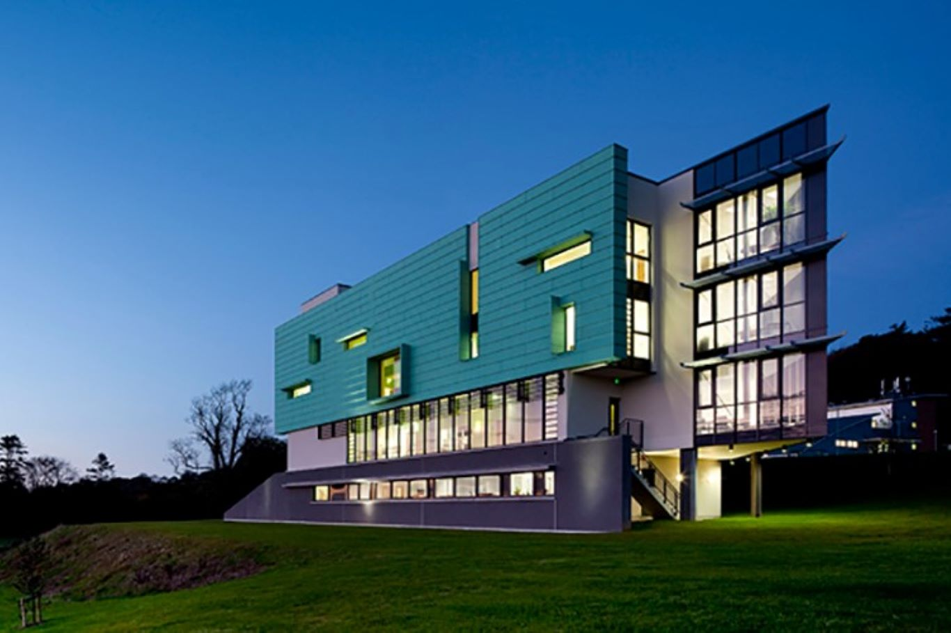 Pictured is the TSSG Netlabs building on WIT's West Campus at Carriganore, Waterford