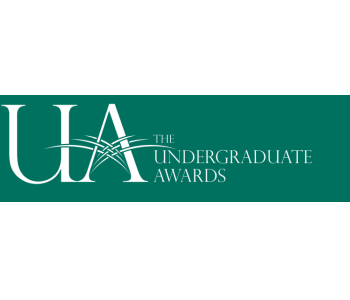 Undergraduate Awards students are invited to enter both outstanding academic papers and research, as well as visual arts portfolios