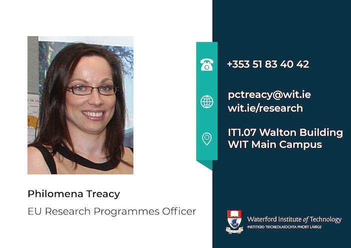 Philomena Treacy EU Research Programmes Officer
