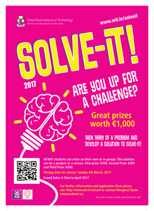 Solve it enterprise competition