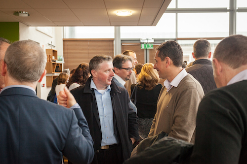 Coffee mornings provide Researchers with an opportunity to network and hear updates on research in the Institute